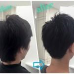 【ビジネス髪型】メンズの黒髪ツーブロックショート★