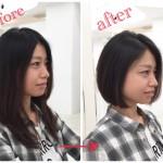 髪をバッサリ切る際のとても大事な注意点★