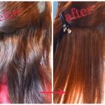 縮毛矯正をやり髪を綺麗に伸ばす!!