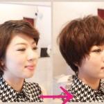 ショートヘアは前髪でこんなに変わる!!