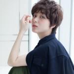 【女性 髪型】ラフカジュアルなアンニュイショート★