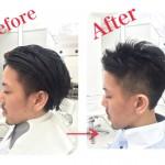 【メンズ髪型】絶壁頭を解消するヘアスタイルはツーブロックショート★