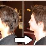 【メンズ髪型】男性もバッサリ切る方が急増中です!!