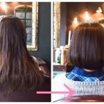 髪型をバッサリとボブに切る方が急増中です!