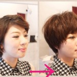 ショートヘアの印象は前髪でここまで変わる!