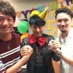 ボス野沢道生の誕生日パーティーをしました★