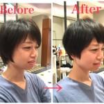 ショートヘアでイメチェンをするのは簡単です!!