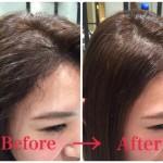縮毛矯正で前髪のくせ毛を自然に伸ばす!ぺったんこにならない直し方★