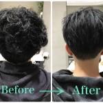 メンズの縮毛矯正を自然な髪型にする3つのポイント
