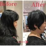 【40代髪型】襟足が浮きやすいくせ毛をショートヘアにバッサリ切る!