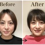 【40代からオススメの髪型】前髪を作ることにより丸顔のお悩み解決★