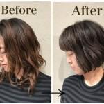 髪をロングからバッサリボブに切る!