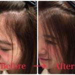 前髪の縮毛矯正で失敗しない自然に仕上げる方法