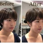 ショートヘアは耳かけで印象が大きく変わる!