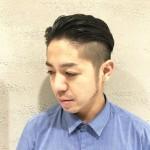 【髪型 メンズ】ショートで人気はツーブロックの黒髪スタイル