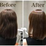 くせ毛で広がる膨らむ髪質は縮毛矯正がオススメです
