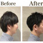 メンズに多い絶壁でもかっこいい髪型にするには襟足を刈り上げる