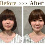 丸顔でも髪型をショートボブにできる!