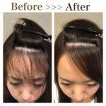 縮毛矯正をして前髪を自然に流す2つの方法